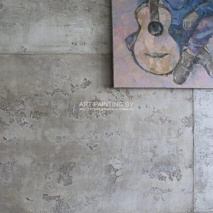 Декоративная штукатурка под бетонные блоки